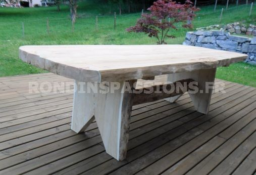 table rondins