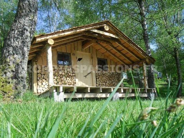 cabane rondins